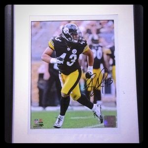 Troy palomalo 8x10 autograph picture framed coa
